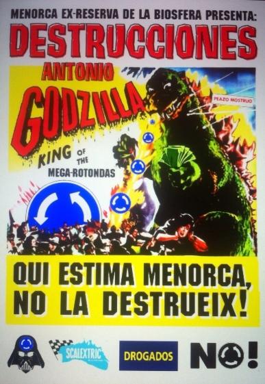 cartell GODZILLA